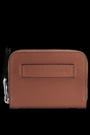 Porte-cartes zippé Longchamp 3D