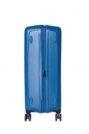 Valise 4 Roue Jumbo Extensible 76 cm-Bleu Pétrole