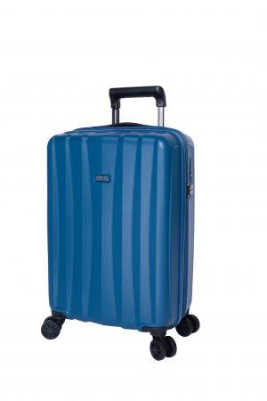 Valise Extensible 4 roues cabine Universelle 55 cm-Bleu Pétrole