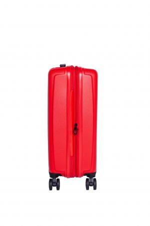 Valise Extensible 4 roues cabine Universelle 55 cm-Rouge