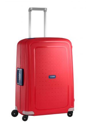 Valise 4 roues S'Cure 69 cm-Crimson Red / Dark Blue