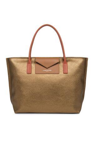 Sac cabas shopping Maya vinyle + cuir