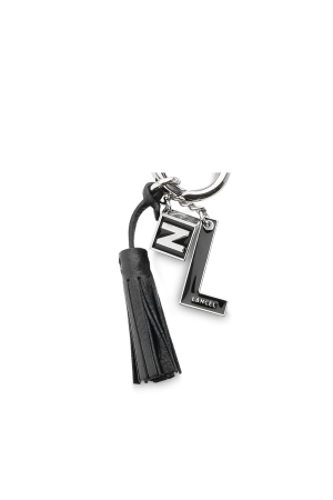 Porte-clés NEUF avec breloques métal & émail-Noir