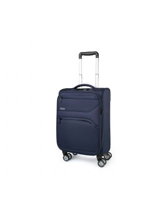 Valise extensible 4 roues cabine 55 cm-Marine