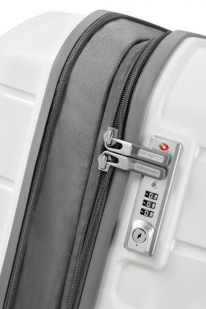 Valise 4 roues Extensible 68 cm-Blanc