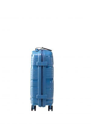 Valise 4 roues ultralight 55 cm-Bleu Azur