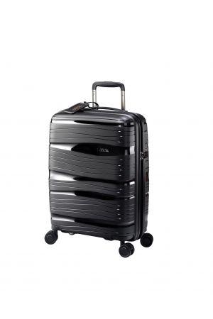 Valise 4 roues ultralight 55 cm-Noir