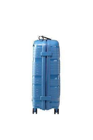 Valise 4 roues ultralight 67 cm-Bleu Azur