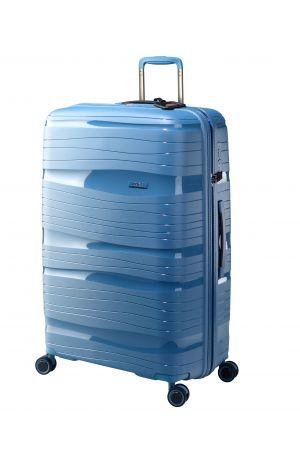 Valise 4 roues ultralight 77 cm-Bleu Azur