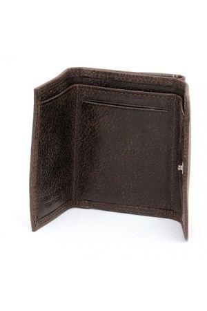Porte-monnaie à cartes cuir vieilli