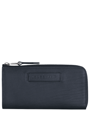 Portefeuille long zippé Longchamp 3D