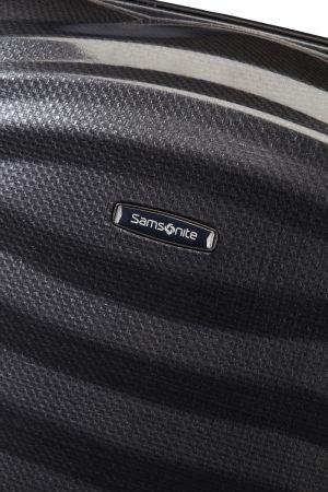 Valise cabine Lite-Shock 55 cm-Noir