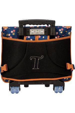 Cartable à roulettes 38 cm Alexa motif Cerises