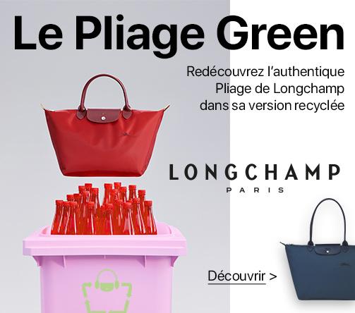 le pliage green Longchamp, enfin disponible sur sacbagage